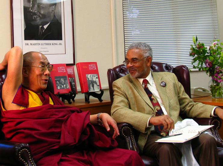 The Dalai Lama on November 6, 2005