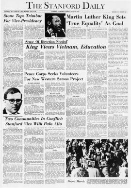 The Stanford Daily, Monday April 17, 1967