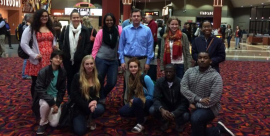 Staff and students attend Selma