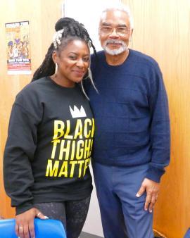 Dr. Carson with Alicia Garcia