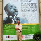 "At National Theatre of China Production of ""Passages of Martin Luther King,"" in Beijing, June 21-24, 2007"