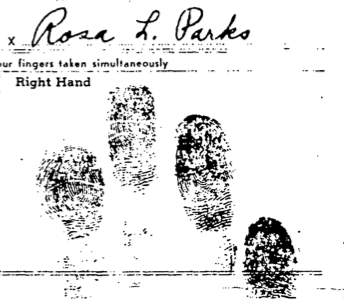 Arrest Record For Rosa Parks | The Martin Luther King, Jr , Research
